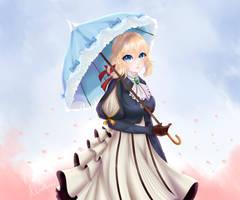 Violet by AkireNeko