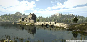 Donan Castle by svenart