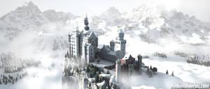 Castle Neuschwanstein by svenart