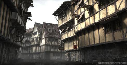 Burkhal downtown by svenart