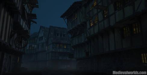 Burkhal downtown nightversion by svenart