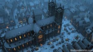 Wintermarket by svenart