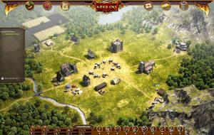 Kingsera Browsergame Village by svenart
