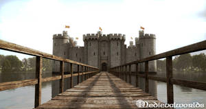 Bodiam Castle 3 by svenart