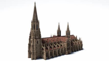 Gothic Minster by svenart