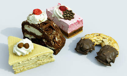 Cakes by svenart