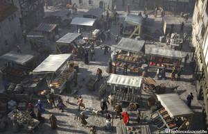 Medieval Marketplace by svenart