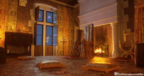 Chateau de Blois, Arcduchess Chamber by svenart