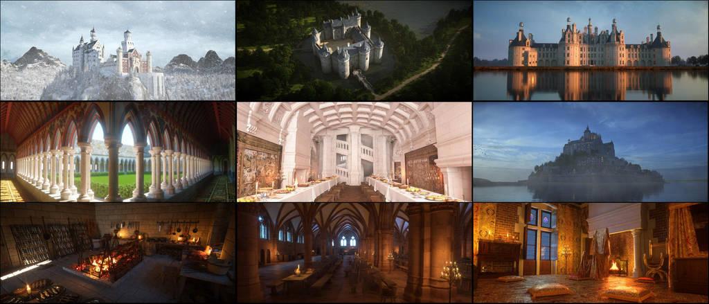 Medievalworlds showreel by svenart