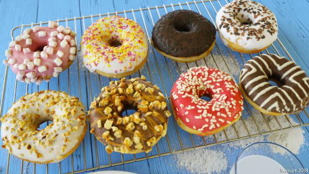 Donuts by svenart