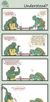 TMNT Comic by LaLunatique