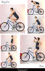 STOCK - Bicycle 2 by LaLunatique