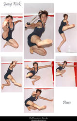 STOCK - Jump Kick by LaLunatique