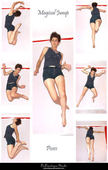 STOCK - Magical Jump by LaLunatique