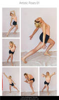 STOCK - Artistic Poses 01 by LaLunatique