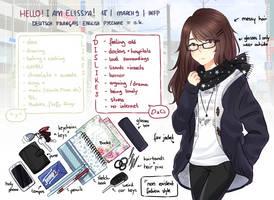 MEET THE ARTIST: Elissya by Elissya-chan