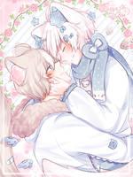 [G] Oliver and Misha by Elissya-chan