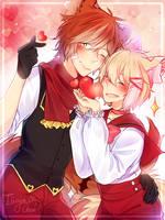 [G] Shouyu and Lev by Elissya-chan
