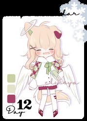 [CLOSED] Advent Calendar - Day 12 by Elissya-chan