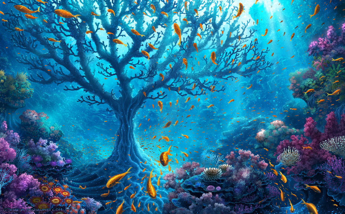 Ocean Tree by Kiarya