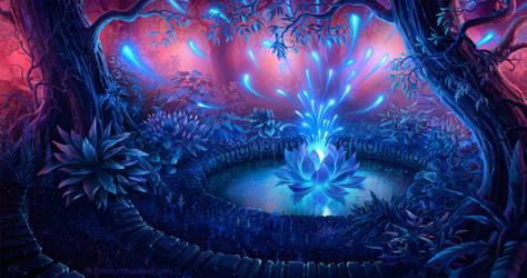 The Magical Flower by Kiarya