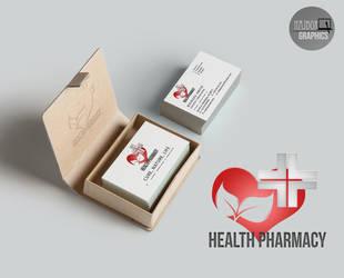 Health pharmacy logo by NajborGraphics
