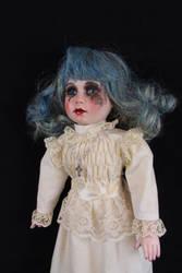 Dusty Blue Doll Stock by Ugly Shyla by uglyshyla