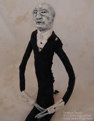 SlenderMan Doll by uglyshyla