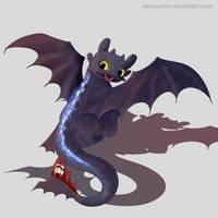 Toothless by SeviYummy