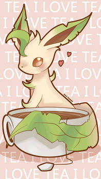 Leafeon Phone Wallpaper FREE by SeviYummy