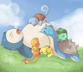 Sleepy Team by SeviYummy