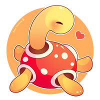 Chibi Shuckle by SeviYummy