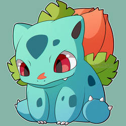 ChibiDex: #002 Ivysaur by SeviYummy