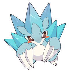 ChibiDex: #027 Alolan Sandslash by SeviYummy
