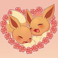 Eevee Valentine by SeviYummy
