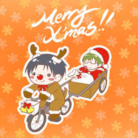 KNB: Merry Christmas! by starshine1313