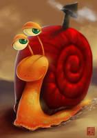 Caracol / snail by DavidLazzuri