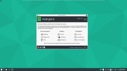 Manjaro kde 16.06 rc2 x86 i686 by zaktech90