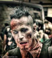 HDR Zombie Walk Sweden 8 by Robgrafix