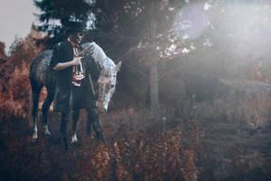 pale horse by Robgrafix