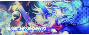 Blue Queen by Rioko-Sakura