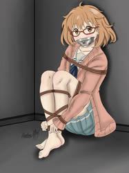 Kidnapped in the basement - Mirai Kuriyama V1 by Shadow-XCP
