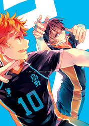 HAIKYUU! jumping in a world of vivid blue by BLACKlbutterfly