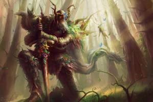 Gawain, Legacy of the Green Knight by JoelChaimHoltzman