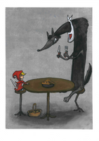 The Little Red Riding Hood by Solidium