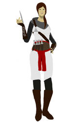 Kathryn.   Assassins Creed OC : UPDATED by TeamLeo295