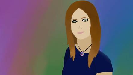Self portrait of me by TeamLeo295