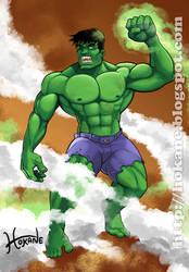Hulk Fanart by Hokane