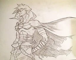 Kamina Sketch by richardsmae