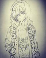 Yurio Sketch by richardsmae
